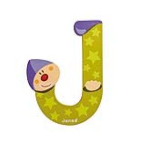 Janod Lettre clown en bois : J