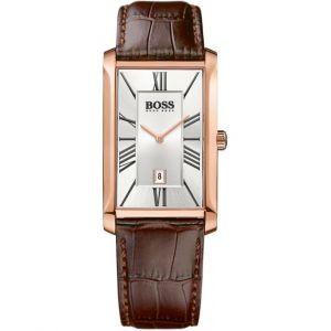 Hugo Boss 1513436 - Montre pour homme avec bracelet en cuir