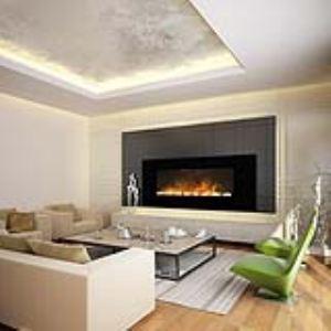 Chemin'Arte Volcano XXL - Cheminée décorative électrique 2000W