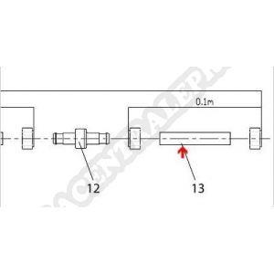 Procopi 1004013 - Tuyau souple pou robot Jet Vac