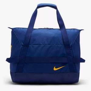Nike FC Barcelone Sac de Sport Duffel - Bleu Marine/Jaune Doré