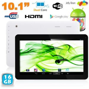 """Yonis Y-tt35g16 - Tablette tactile 10.1"""" sous Android 4.2 (8 Go interne + Micro SD 8 Go)"""