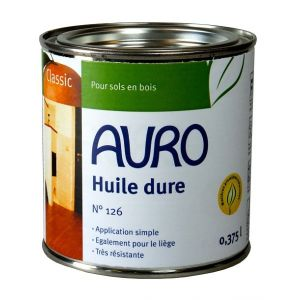 Auro Huile dure pour sols n°126 - Pot de 0,375L