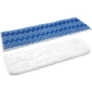 Polti PAEU0268 - 2 lingettes microfibre pour Steam Mop