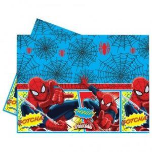 Nappe en plastique Spiderman (120 x 180 cm)