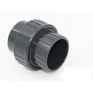 Jardiboutique Union 3 Pieces a Coller diamètre 50 mm PN 16 - raccord PVC
