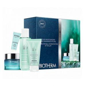 Biotherm Coffret Aquasource peaux normales à mixtes - 4 produits