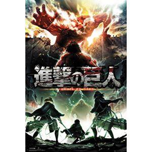 GB eye LTD, Attack on Titan, Season 2 Key Art, Maxi Poster 61 x 91,5 cm