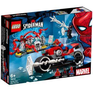 Lego 76113 - Marvel Super Heroes - 2018 - Le sauvetage en moto de Spider-Man