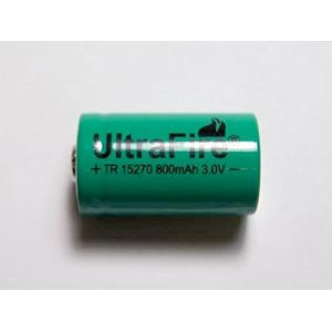 Ultrafire pile cr2 rechargeable tr15270 3v 600mah - Pile cr2 3v ...