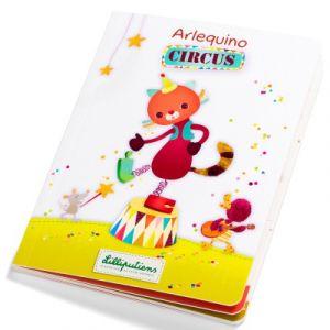 Lilliputiens Livre-jeu Arlequino circus sans texte