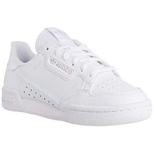 Adidas Continental 80 J Chaussures de sport Unisexe Enfants - Blanc - Multicolore