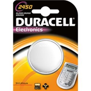Duracell CR2450 - Blister 1 pile bouton