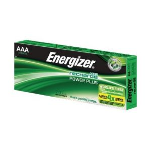 Energizer Lot de 10 piles AAA - HR3 700mA ACCU Recharge