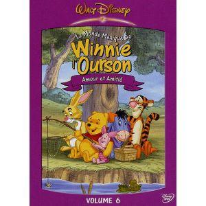 Le Monde magique de Winnie l'Ourson - Vol.6 : Amour et amitié [DVD]