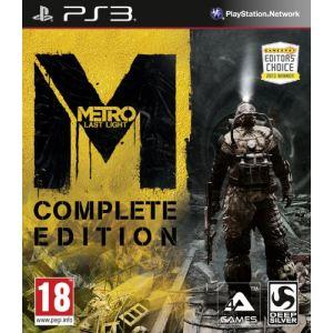 Metro : Last Light - Edition Complète [PS3]