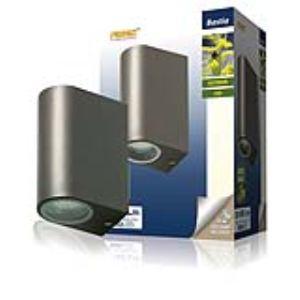 Ranex 5000.331 - Applique double Bastia en aluminium