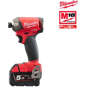 Milwaukee FUEL M18 FQID-502X 5.0Ah - Visseuse à choc