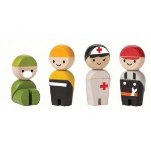 Plan Toys Jeu en bois Les secouristes