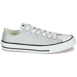 Converse Chaussures enfant Chuck Taylor All Star Metallic - Couleur 36,37,38,27,28,29,30,31,32,33,34,35 - Taille Doré