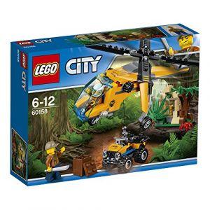 Lego 60158 - City : L'hélicoptère cargo de la jungle