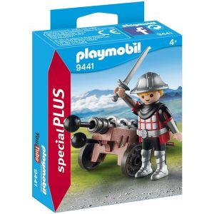 Playmobil 9441 - Chevalier avec canon