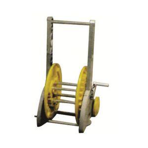 Sigmund s.d.g. Dévidoir sur roues stable pour tuyau Ø15 (50m) et Ø19 (35m)