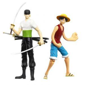 Obyz One Piece Pack figurines Luffy et Zoro 12 cm