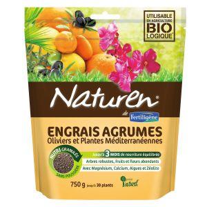Naturen Engrais agrumes et plantes méditerranéennes - Boîte 750 g