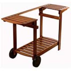 Simogas Chariot en bois pour plancha CB-50, CB-60 et CBU-75
