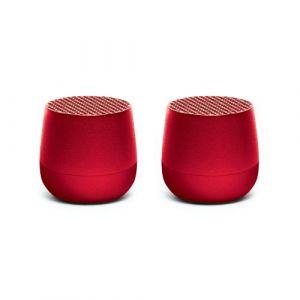 Lexon Twin Minobt Rouge - Enceinte sans fil