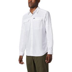 Columbia Silver Ridge 2.0 Chemise manches longues Homme, white L T-shirts techniques
