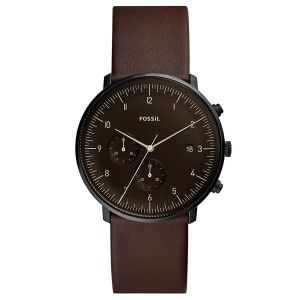 Fossil Montre Homme Chase Marron