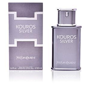Yves Saint Laurent Kouros Silver - Eau de toilette pour homme - 50 ml