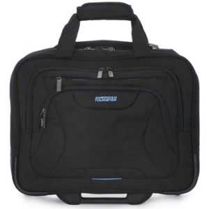 American Tourister Sac Samsonite 006 AT WORK ROLLING TOTE 15.6 Noir - Taille 36,Unique