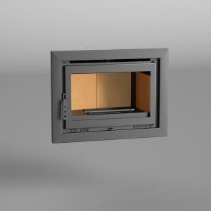 Fm I-180 - Insert de cheminée 12,5 kw avec porte en fonte