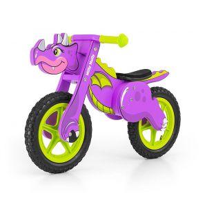 Milly Mally Dino - Vélo / Draisienne enfant en bois