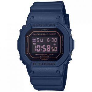 Image de Casio Montre DW-5600BBM-2ER - G-Shock DW Multifonctions Bracelet Résine Bleu Boîtier Résine