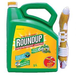 Roundup Désherbant formule 6 h pulverisateur FOOD & SPÉ 5 L