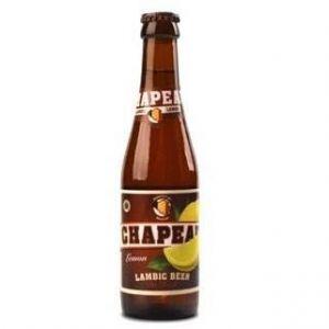 Brasserie de Troch Chapeau Lemon - Bière Blonde - 25 cl - 3,5 %