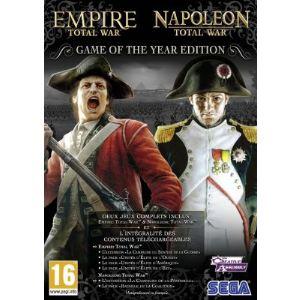Coffret GOTY Edition : Empire : Total War + Napoléon : Total War - Avec toutes extensions téléchargeables [PC]