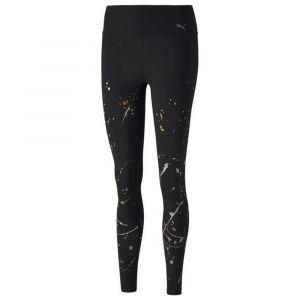 Puma Collant Metal Splash Splatter Training pour Femme, Noir, Taille S