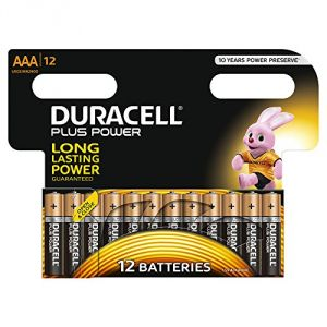 Duracell Plus Power Pile LR03 AAA 1,5V pack de 12