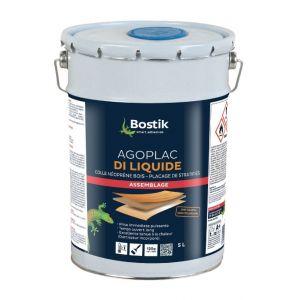Bostik Colle de contact néoprène - 5 L - Agoplac di liquide -