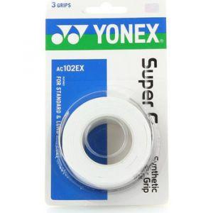 Yonex Overgrip super grap 3 Blanc Standard