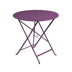Fermob Bistro - Table de jardin ronde pliante Ø77 cm