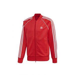 Adidas SST TT Sweat-Shirt Homme, Lush Red, FR