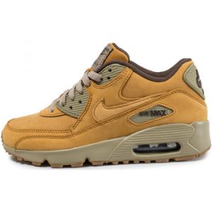 Nike Air Max 90 GS 943747-700, Baskets Mixte Enfant, Mehrfarbig (Beige 001), 37.5 EU