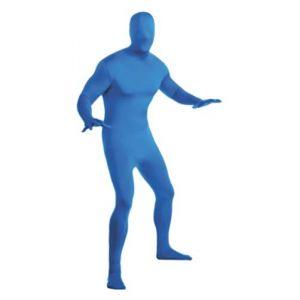 Déguisement Seconde peau bleue adulte L 1,60m à 1,80m