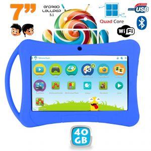 "Yonis Tablette tactile enfant 7"" 40 Go sous Android 5.1"